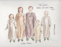 The Giver Rendering of Chorus Costumes