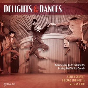 Abels Delights & Dances Harlem4tet Cedille CD