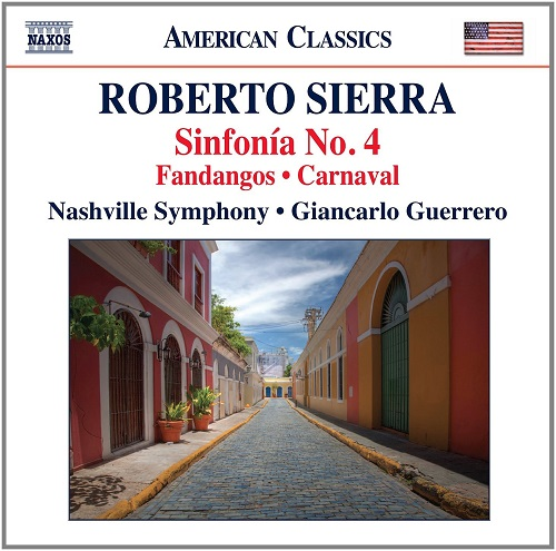 Sierra Sinfonia No. 4 Naxos CD cover 2 red FB