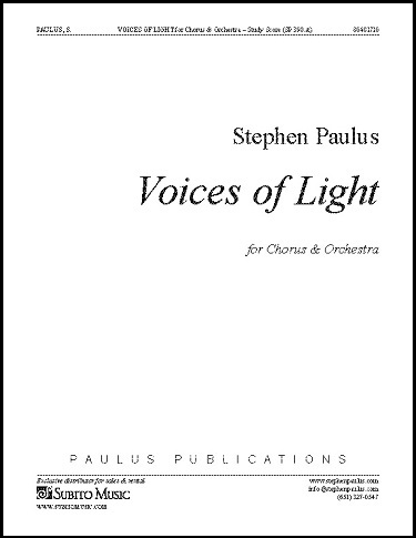Paulus VoicesLight score edit