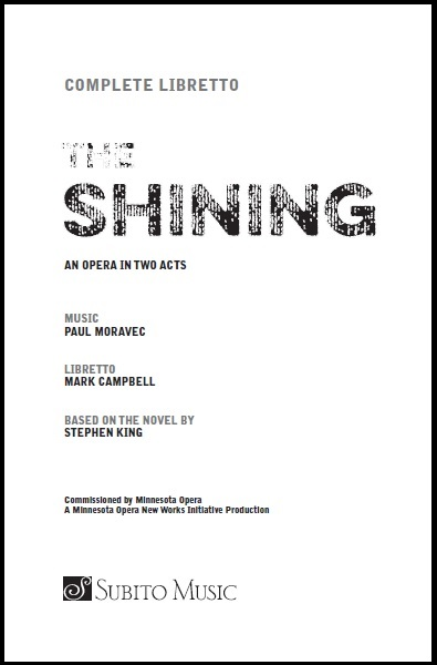 Moravec Shining libretto cover